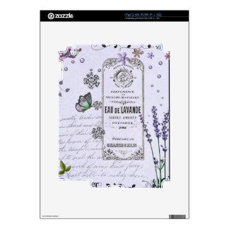 Vintage Lavender Collage iPad 2 Skin
