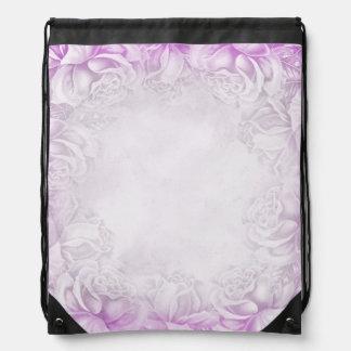 Vintage Lavender Victorian Roses backpack