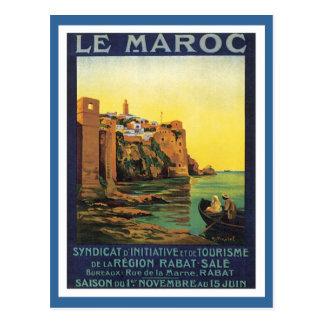 Vintage Le Maroc Marruecos Postal
