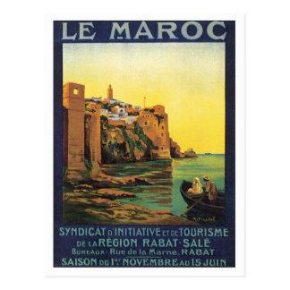 Vintage Le Maroc Marruecos Tarjetas Postales