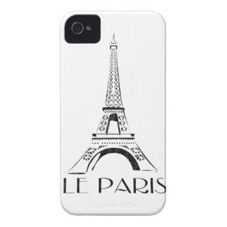 vintage le paris eiffel tower iPhone 4 case