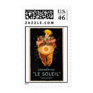 Vintage Le Soleil Postage