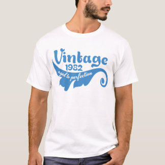 Vintage LEAF aged to perfection 1982 blue tshirt