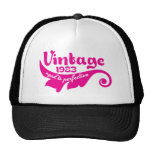 Vintage LEAF aged to perfection 1983 pink.ai Trucker Hat