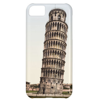 Vintage Leaning Tower Of Pisa iPhone 5C Cases