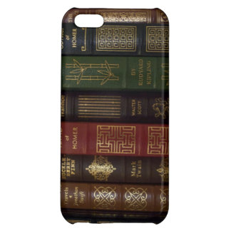 Vintage Leather Bound Classic Books iPhone 5C Cases