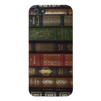Vintage Leather Bound Classic Books iPhone SE/5/5s Cover