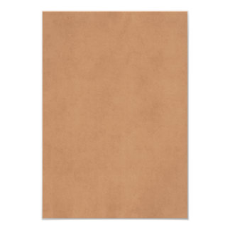 Vintage Leather Brown Antique Paper Template Blank Card
