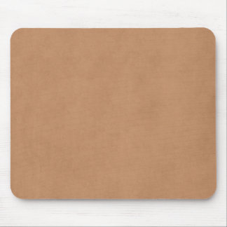 Vintage Leather Brown Antique Paper Template Blank Mouse Pad