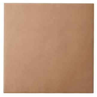 Vintage Leather Brown Antique Paper Template Blank Tile