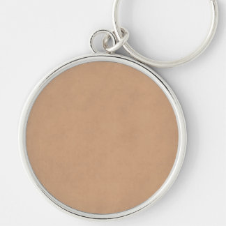 Vintage Leather Brown Parchment Paper Template Keychains