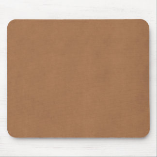 Vintage Leather Brown Parchment Paper Template Mouse Pad