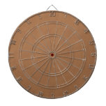 Vintage Leather Brown Parchment Template Blank Dart Boards