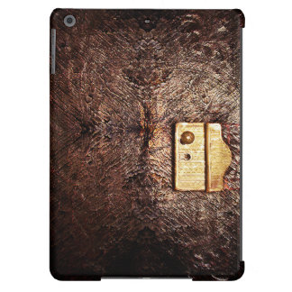 Vintage leather iPad air cover