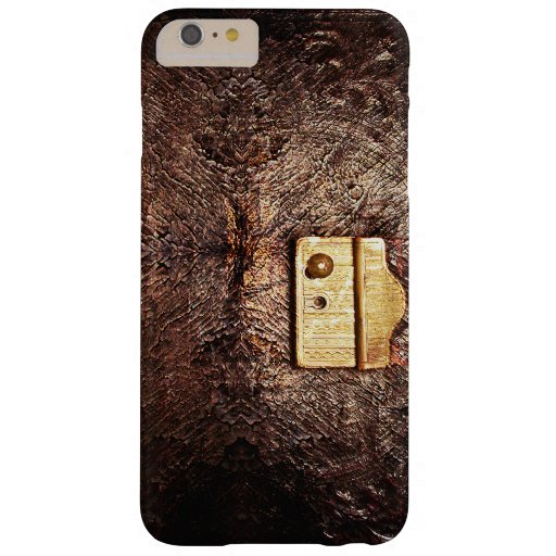 Vintage leather barely there iPhone 6 plus case