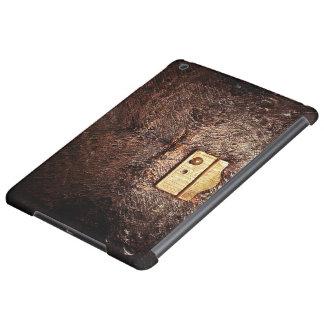 Vintage leather iPad air case