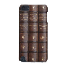 Vintage Leather Library Books Ipod Touch 5g Case at Zazzle