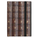 Vintage Leather Library Books Mini Ipad Case at Zazzle
