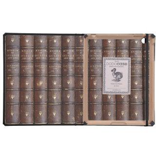 Vintage Leather Library Effect iPad DODOcase iPad Case