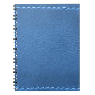 Vintage Leather Look Patchwork - Add Image / Text Notebooks