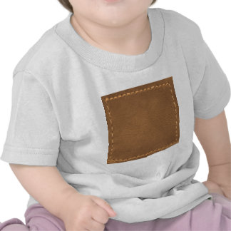 Vintage Leather Look - Write on ImageBox TextBox T-shirts