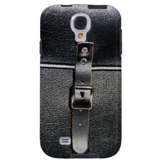 Vintage leather strap lock galaxy s4 case
