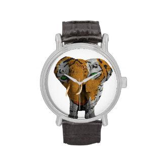 Vintage Leather Strap Watch