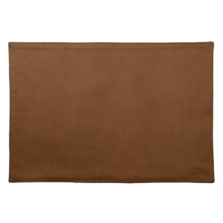 Vintage Leather Tanned Brown Parchment Paper Cloth Placemat