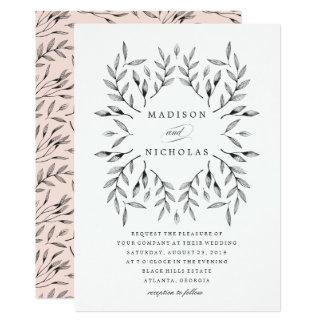 Vintage Leaves | Wedding Invitation