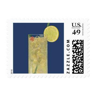 Vintage Lemonade or Fruit Soda, Drinks Beverages Postage Stamp