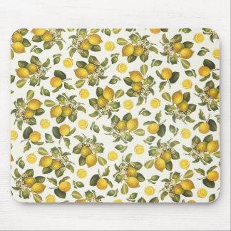 Vintage Lemons Mouse Pad
