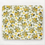 Vintage Lemons Mousepad