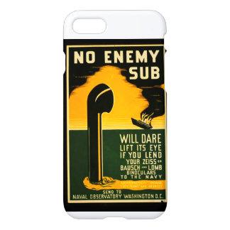 Vintage Lend Binoculars to the Navy WPA iPhone 7 Case