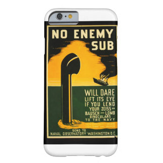 Vintage Lend Binoculars to the Navy WPA Poster Barely There iPhone 6 Case