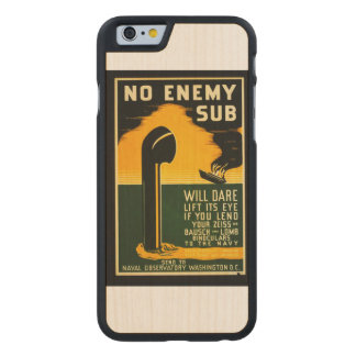 Vintage Lend Binoculars to the Navy WPA Poster Carved Maple iPhone 6 Case