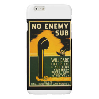 Vintage Lend Binoculars to the Navy WPA Poster Glossy iPhone 6 Case