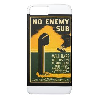 Vintage Lend Binoculars to the Navy WPA Poster iPhone 7 Plus Case