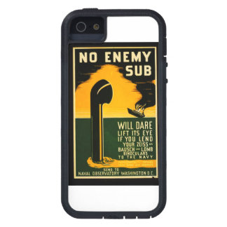 Vintage Lend Binoculars to the Navy WPA Poster iPhone SE/5/5s Case