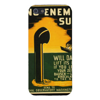 Vintage Lend Binoculars to the Navy WPA Poster iPhone SE/5/5s Cover