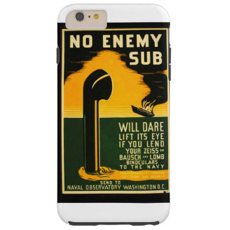 Vintage Lend Binoculars to the Navy WPA Poster Tough iPhone 6 Plus Case