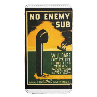 Vintage Lend Your Binoculars to the Navy Poster Galaxy S4 Pouch