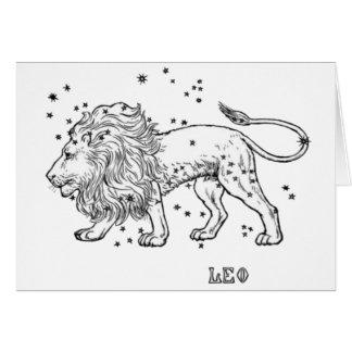 Vintage Leo Card