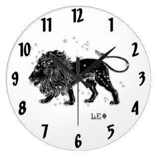 Vintage Leo Wall Clock