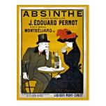 Vintage Leonetto Cappiello Absinthe ad Postcard