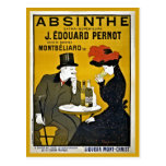 Vintage Leonetto Cappiello Absinthe ad Postcards