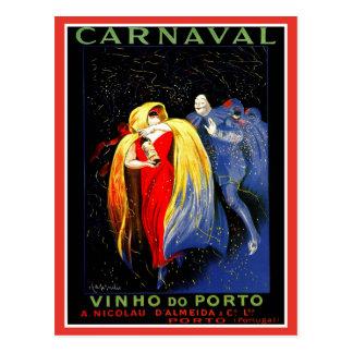 Vintage Leonetto Cappiello carnival porto ad Postcard