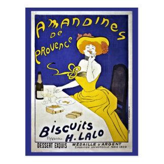 Vintage Leonetto Cappiello cookies ad Postcard