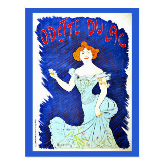 Vintage Leonetto Cappiello Odette Dulac Postcard