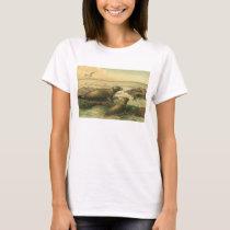Vintage Leopard Seals, Aquatic Animals Marine Life T-Shirt
