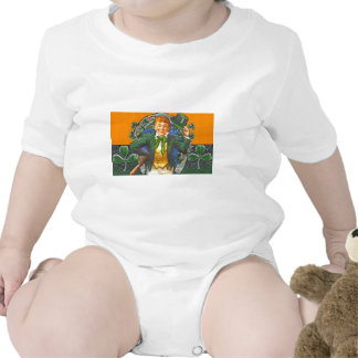 Vintage Leprechaun Baby Bodysuit
